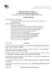 Sociālā darba izglītībai Latvijā – 20″ programma