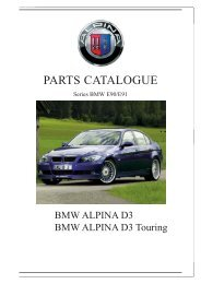 PARTS CATALOGUE - KLINIKA BMW