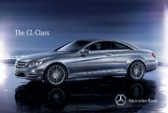 The CL-Class - Mercedes-Benz Latvija