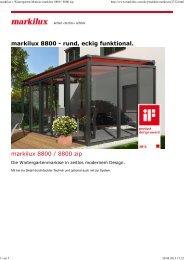 PDF Download Markilux 8800 zip - Andre Atzert