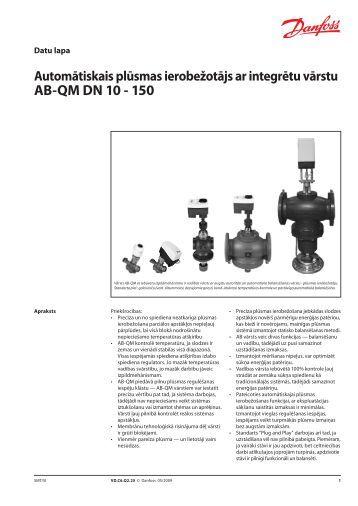AB-QM DN 10 - 150 - Danfoss apkures portāls