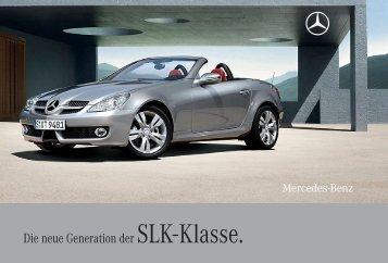 Die neue Generation der SLK- Klasse. - Mercedes-Benz Latvija