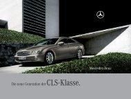 Die neue Generation der CLS - Klasse. - Mercedes-Benz Latvija