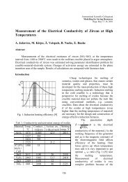 Measurement of the Electrical Conductivity of zircon at High ...