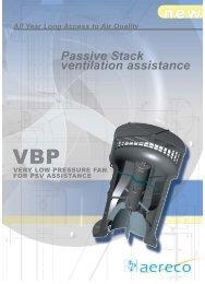Passive Stack ventilation assistance - ecovent