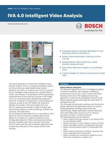 bosch vidos video management software