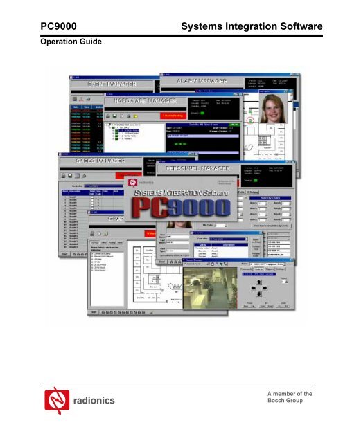 PC9000 Systems Integration - Bosch Security Systems on