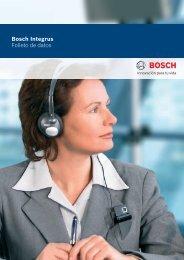 Bosch Integrus Folleto de datos