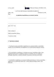 vēl nav spēkā Publicēts:Vēstnesis 180 2006.11.09. LATVIJAS ...