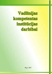 Vadlīnijas kompetentas institūcijas darbībai - European Agency for ...