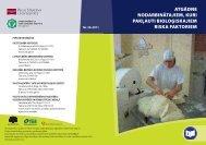 Atgadne biologiskie riski - Eiropas darba drošības un veselības ...