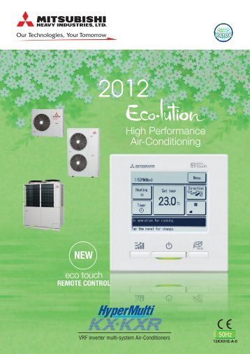 VRF inverter multi-system Air-Conditioners - Air-Green Corporation