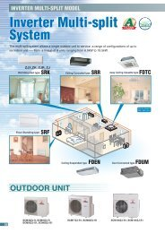 Inverter Multi-split System Inverter Multi-split System - BVTPartneri.lv