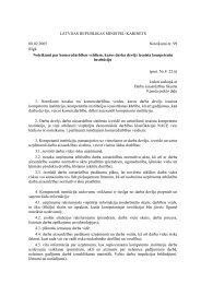 LATVIJAS REPUBLIKAS MINISTRU KABINETS 08.02.2005 ...