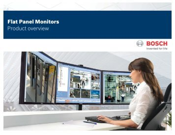 Quick Selection Guide - Bosch Security Systems