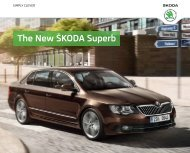 The New Å KODA Superb