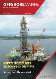 July/August 2010 - Keppel Offshore & Marine