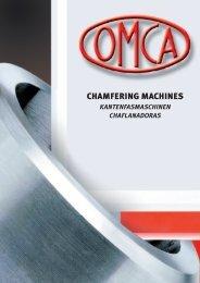 bench chamfering machines / stationär ... - Omca S.r.l.
