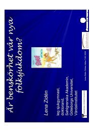 (Microsoft PowerPoint - Lena Zid\351ns presentation \304ldres ... - GR