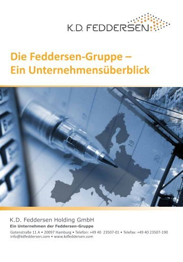 Die Feddersen-Gruppe – Ein ... - KD Feddersen Holding GmbH