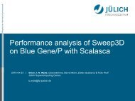 Performance analysis of Sweep3D on Blue Gene/P with ... - IPDPS