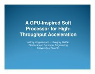 A GPU-Inspired Soft Processor for High- Throughput ... - IPDPS
