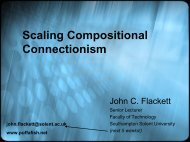 Scaling Compositional Connectionism