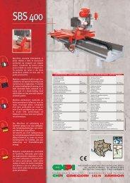 I GB F D E - CMPI Costruzione Macchine per Marmo e Granito