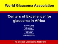 Centers of Excellence - World Glaucoma Association