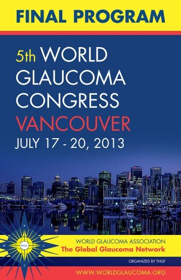 Final program now available (pdf)! - World Glaucoma Association