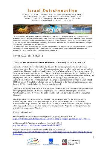 Woche 12.03. bis 18.03.2012 - IDG
