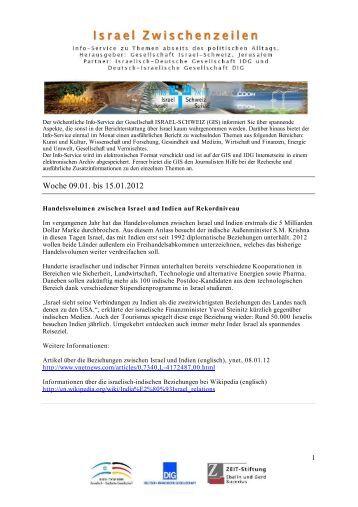 Woche 09.01. bis 15.01.2012 - IDG