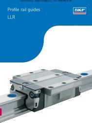 Profile rail guides LLR