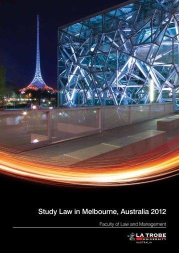Study Law in Melbourne, Australia 2012 - KOM Consultants