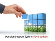 Decision Support System Development - Stiki Indonesia