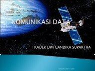 KOMUNIKASI DATA - Stiki Indonesia
