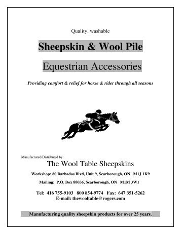 here - The Wool Table Sheepskins