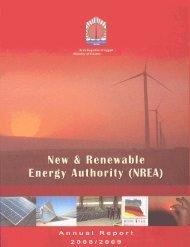 Annual Report 2008-2009 - NREA