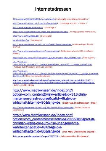 Internetadressen