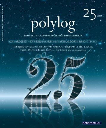 Michaela Neulinger - polylog. Zeitschrift für interkulturelles ...