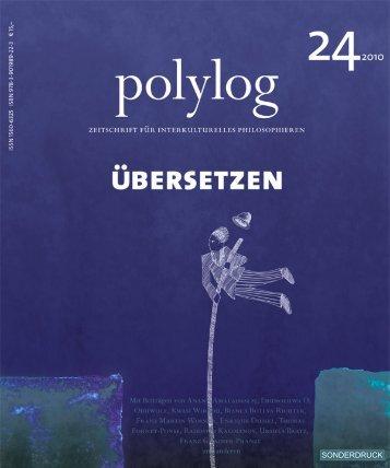 Franz Gmainer-Pranzl - polylog. Zeitschrift für interkulturelles ...