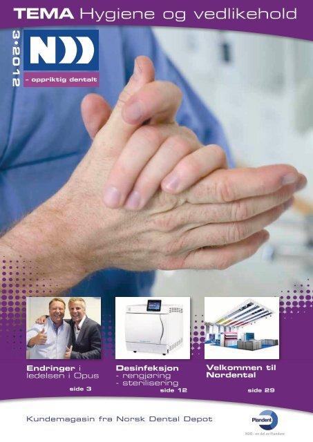 Nr 3-2012, Hygiene og vedlikehold