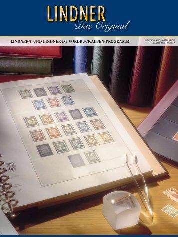 LINDNER-T Vordruckblätter - Kelsche24