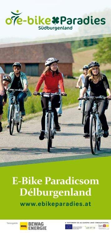 E-Bike Paradicsom Délburgenland - Ein Stück vom Paradies