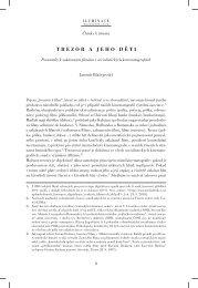 TREZOR A JEHO DĚTI - Iluminace