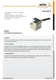 zum Datenblatt (PDF) - Artis MARPOSS