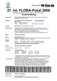 27. int. FLORA-Pokal 2008 - tghamburg-nord.de