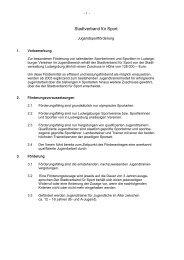 Stadtverband für Sport Ludwigsburg