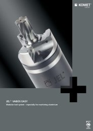 Product information JEL® VABOS EASY - Komet Group