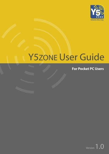 Y5ZONE User Guide